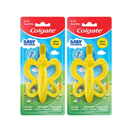 Colgate Baby Toothbrush and Teether