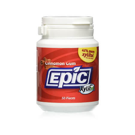 Epic Xylitol Chewing Gum, Cinnamon