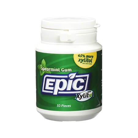 Epic Xylitol Chewing Gum, Spearmint