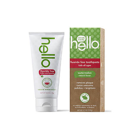 Hello Oral Care Kids Fluoride Free and SLS Free Toothpaste